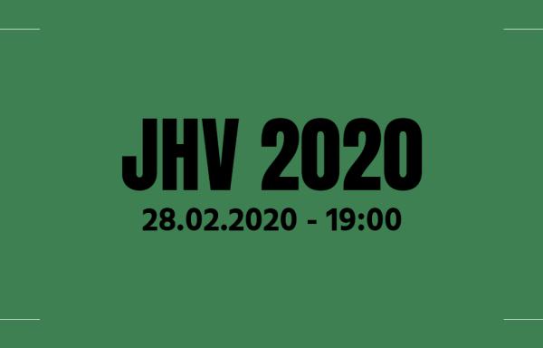 Ergebnisse der JHV 2020