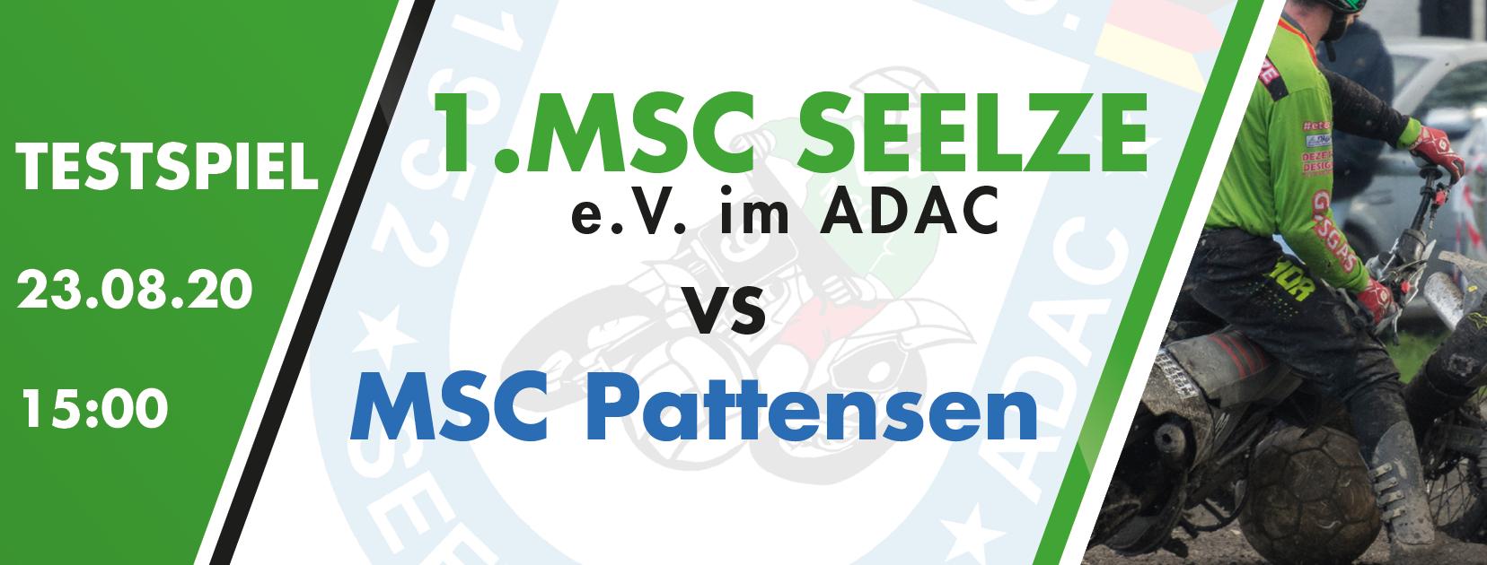 Testspiel gegen den MSC Pattensen